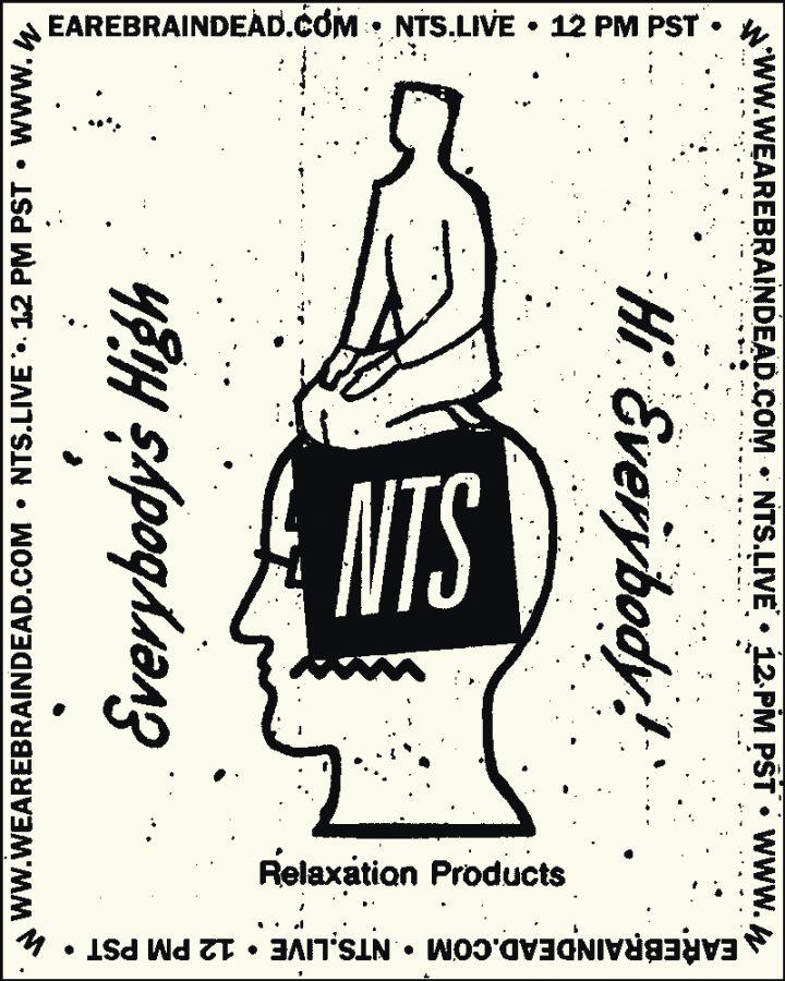 Braindead Brainwave NTS Radio- Cárter Studio Moodboard