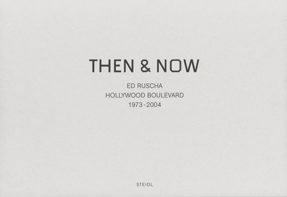 Ed Ruscha Then Now - Cárter Studio Moodboard