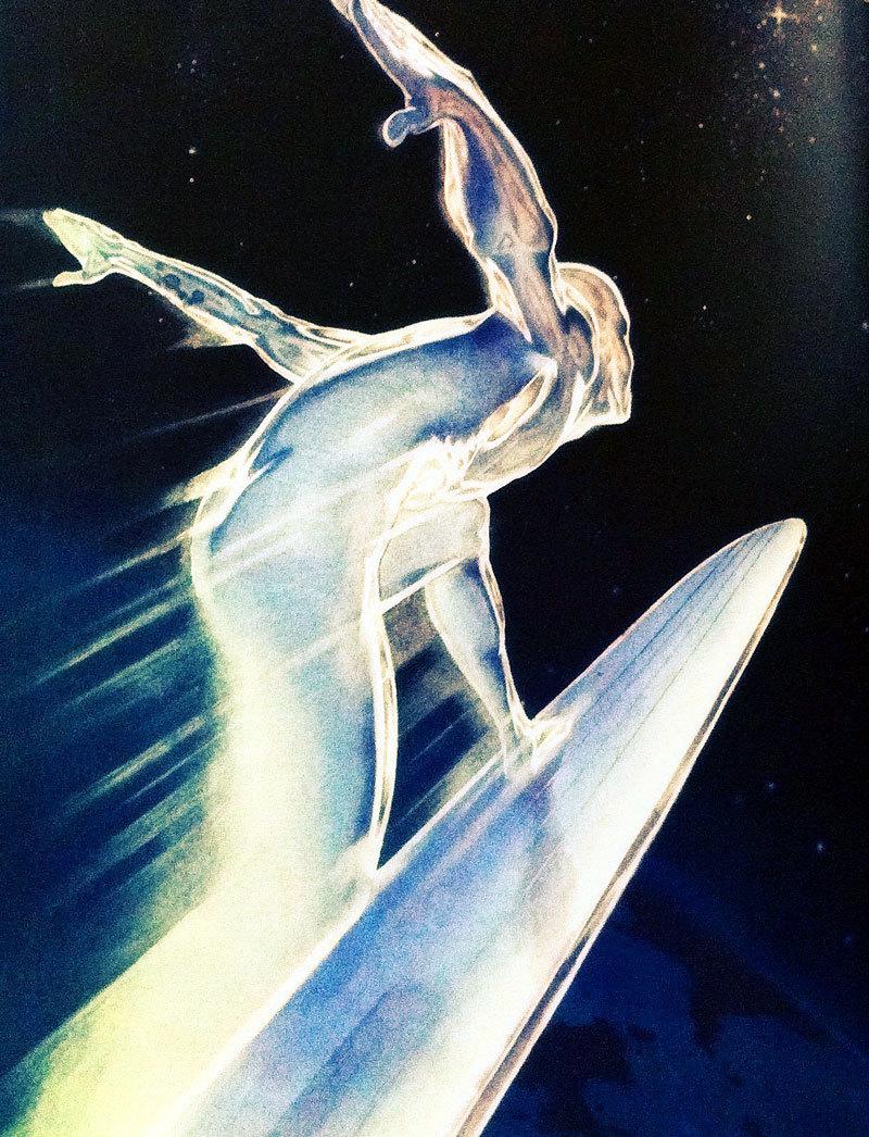 Silver Surfer - Cárter Studio Moodboard