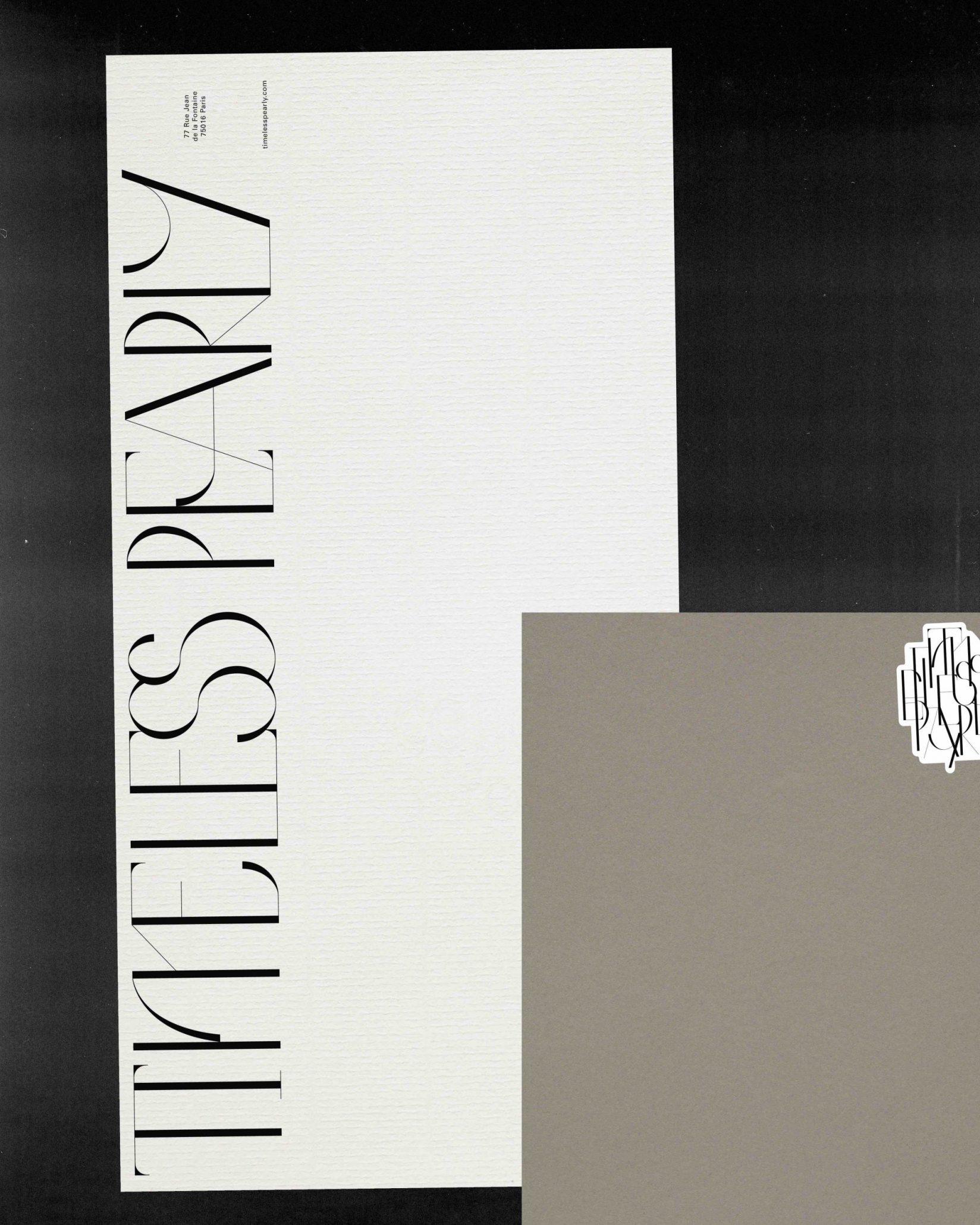 Timeless Pearly Stationary - Cárter Studio