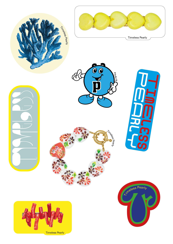 Timeless Pearly Sticker Sheet - Cárter Studio
