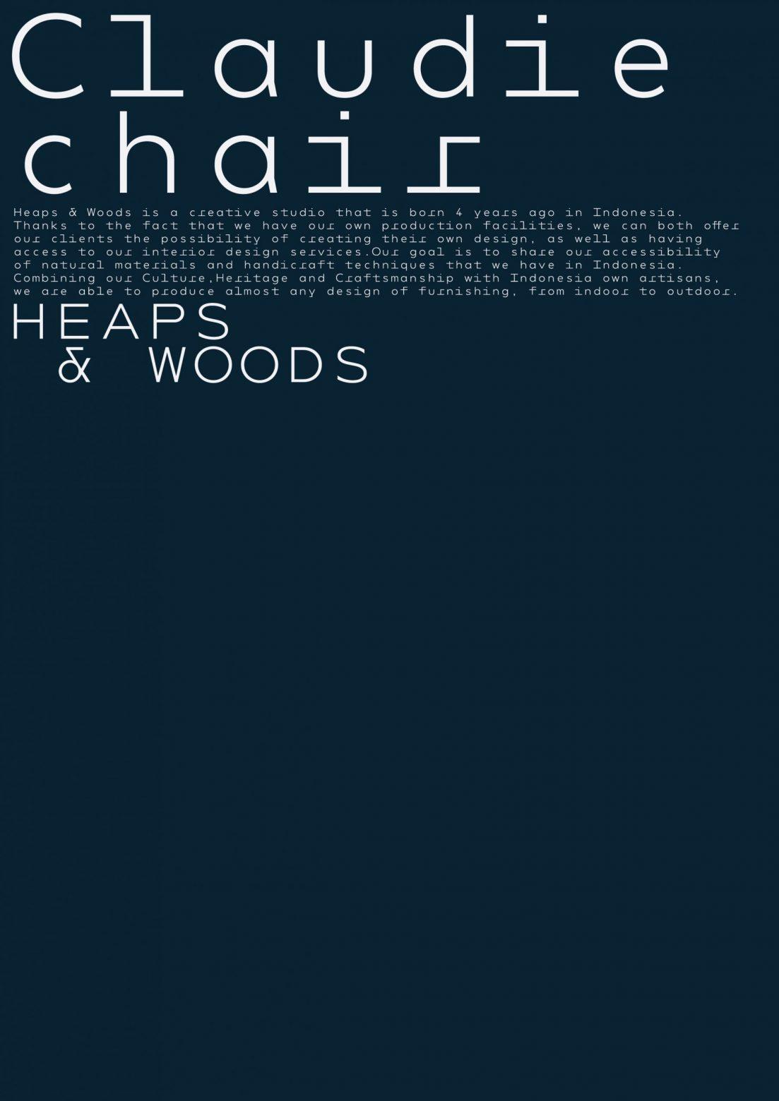Heaps & Woods Poster - Cárter Studio